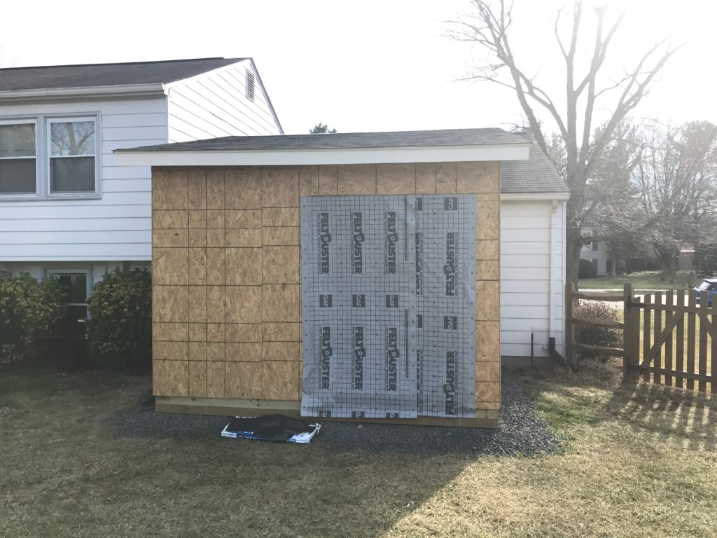 Housewrap door
